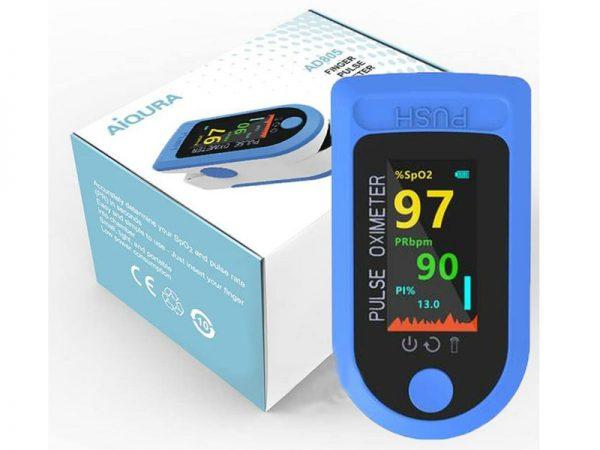 Máy đo nồng độ oxy trong máu và nhịp tim